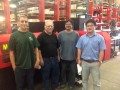 Operators and Trainers - Richard, Rudy, Mike & Lin
